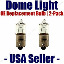 Dome Light Bulb 2-Pack OE Replacement - Fits Listed Volvo Vehicles - 64111