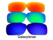 Galaxy Replacement Lenses For Oakley Breadbox Blue&Green&Red 3 Pairs