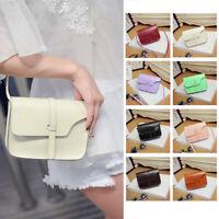 Women Lady Crossbody Leather Shoulder Bag Tote Purse Handbag Messenger Satchel Z