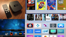 Apple TV 4K (64 GB)-Media Center, PopcornTime, Untethered, Extras, Games, Safari