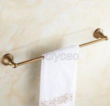 Antique Brass Wall Mounted Bathroom Single Towel Bar Rack Holder Kba147