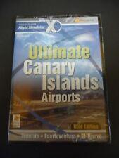 Ultimate Canary Islands Airports Gold PC Add-On Flight Simulator X FS FSX NEW