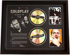 New Coldplay CD Memorabilia Framed