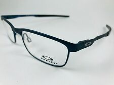 553dbe8c70 New Authentic Oakley Eyeglasses OX 3222 0352 STEEL PLATE powder midnight w  case