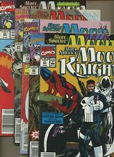 Marc Spector: Moon Knight 21,22,23,24,25 *5 Book Lot* Ghost Rider Team Up Marvel