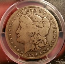 1895 S MORGAN DOLLAR GRADED VG 8 BY PCGS!!!!!