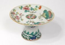Coupelle vide-poche coupe porcelaine chinoise fleurs arbre Chine XIXème