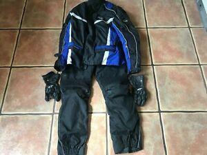 Motorcycle Clothing Bundle Job Lot RST Jacket JES trouser L Alpinestar Glove XL