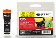 JetTec PGI-5BK Black Compatible Ink Cartridge for Canon - CP5