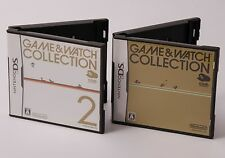 Nintendo DS Game & Watch Collection 1+2 Set Club Nintendo Limited from Japan
