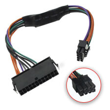 24-Pin A 8-Pin 18AWG ATX Alimentatore Cavo Adattatore Per Dell Computer