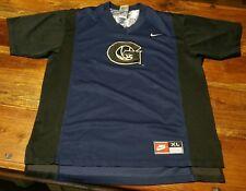 Vintage Georgetown Hoyas Nike Team Sports Warm Up Shooting Shirt Jersey Men's XL