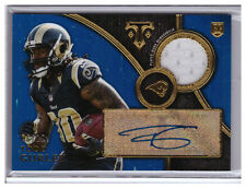 2015 Topps Triple Threads Auto TODD GURLEY Rams RC JERSEY AUTOGRAPH /10
