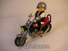 Playmobil 3831 Biker mit Chopper, gebr.