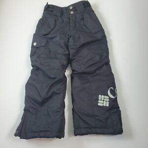 Columbia Bugaboo Omni Black Snow Pants Boys 4/5 Outgrown