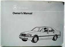 MERCEDES-BENZ C CLASS  - Original Car Owners Handbook - 1993 - #202 584 17 96