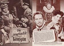 BETTE DAVIS - JOAN COLLINS -  SALE !!!  - Orig German Film Brochure VIRGIN QUEEN