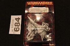 Juegos taller Warhammer elfos oscuros Elf Dreadlord temible Lord en uno de metal frío