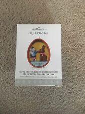 2017 Hallmark Keepsake Ornament Happy Easter, Cookie Cutter Mouse! NIP!