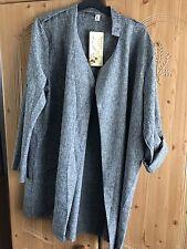 Grey Trench Coat Size 12