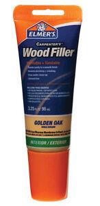 Elmer's E861 Carpenter's Wood Filler, 3.25-Ounce Tube, Golden Oak