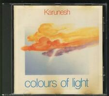 KARUNESH Colours Of Light 1989 CD West Germany Nightingale Records NEW AGE
