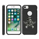 For Apple iPhone SE 2 (2020) / XE Hybrid Dual Layer Hard Protective Slim Case