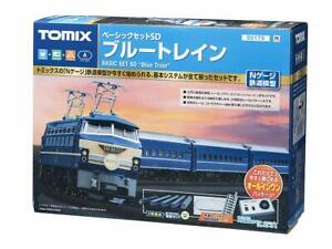 TOMIX N Scale Basic Set SD Blue Train 90179 Model Train Model Set
