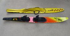 "Vintage Jobe SR-GLAS S-Glass Fibers Reinforced Honeycomb Slalom Water Ski 65"""