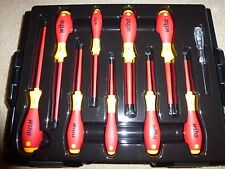 WIHA 16 PIECE ELECTRICAL TOOL SET WITH BOSCH L-BOXX CARRY CASE SCREWDRIVERS VDE
