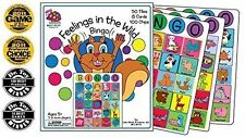 Feelings in the Wild Bingo Game Play Therapy Game by Bright Spots Games Board Ga