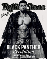 Chadwick Boseman Black Panther signed 8X10 print photo picture poster autograph