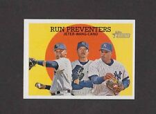 2008 Topps Heritage #237 DEREK JETER ROBINSON CANO CHIEN-MING WANG Yankees NRMT