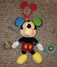 """New listing Disney Baby Mickey Mouse Activity Toy - 9"""" Red"""