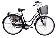 Mistral Dutch Classic 700c Wheel Heritage Traditional Ladies 3 Speed Bike Basket