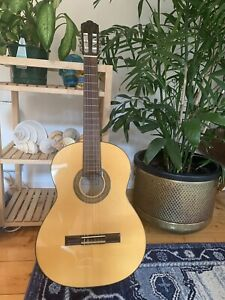 Montoya lutherie Spanish Made classical guitar.