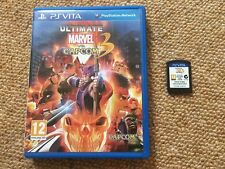 Ultimate Marvel vs Capcom 3 Sony Playstation PS Vita -- UK Seller --