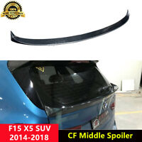 X5 Rear Middle Spoiler Carbon Fiber Wings for BMW F15 X5 SUV 2014-2018