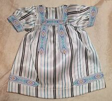 "Doll Dress fits 10""-12"" Patsy Jr & Petite Sally Factory made Satin Stripe"