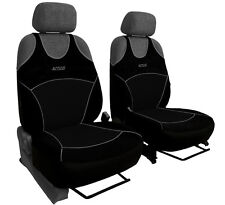 2 NERO ANTERIORE Car Seat Covers SPORT per MINI COOPER