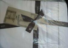 West Elm Organic Cotton White Sheet Set Full Nwt Retail $160