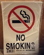 "LOT OF 10 BRADY NO SMOKING STICKERS DECALS SIGNS #88427 Size 10""x7"""