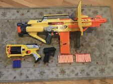 Nerf gun lot with Stampede, Maverick, and more