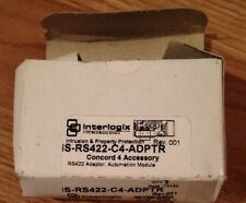 INTERLOGIX IS-RS422-C4-ADPTR CONCORD 4 AUTOMATION ADAPTER  (DC)