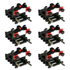 6 Pack Wireless Buffer Stops With Light (for DCC, HO/OO)