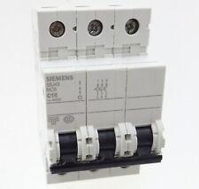 Siemens 5SJ43 C16 Sicherungsautomat 5SJ4316-7CC20 Leitungsschutzschalter 16A 3P