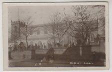 Warks/W Midlands postcard - Moseley Church - RP - P/U 1921