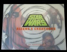 Collectible Star Wars Aliens & Creatures 30 Postcard Set 1996
