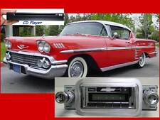CD Player & NEW* 300 watt AM FM Stereo Radio '58 Impala Bel Air iPod USB Aux In