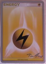 2007 LIGHTNING ENERGY WORLD CHAMPIONSHIPS POKEMON CARD                (INV13016)